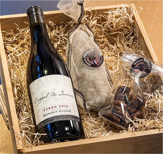 La cave à vins - Maison Duculty
