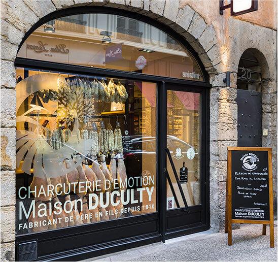 épicerie fine Duculty à Lyon